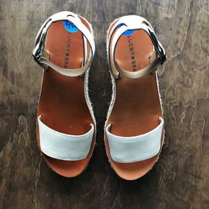 NWOT Adorable Lucky Brand Wedges